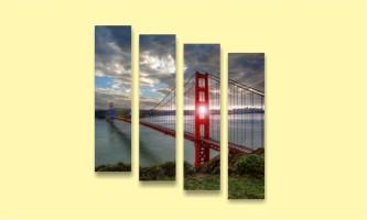 мост Сан-Франциско золотые ворота