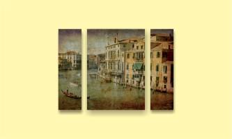 Венеция картина гондольеры