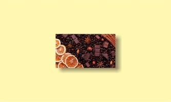 кофе апельсин шоколад корица