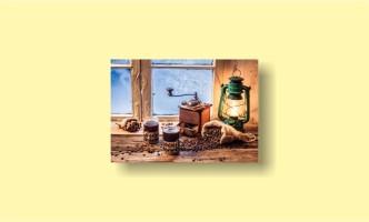 кофемолка зерна лампа окно