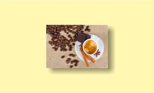 мешковина кофе корица шоколад