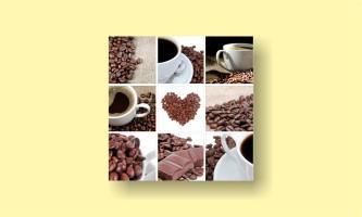 кофе шоколад коллаж