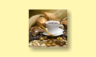 кофе миндаль корица шоколад кружка
