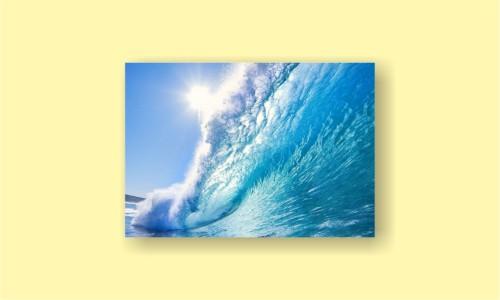 океан волна солнце